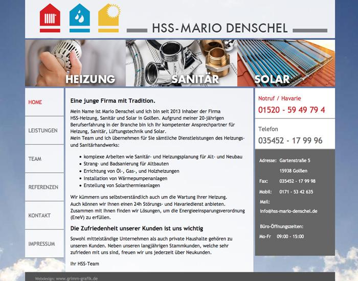 Webseite hss-mario denschel