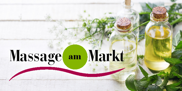logo massage am Markt Luckau